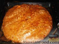 Фото приготовления рецепта: Пирог с капустой - шаг №22