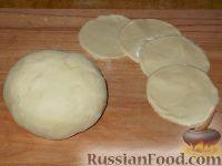Фото к рецепту: Заварное тесто для вареников