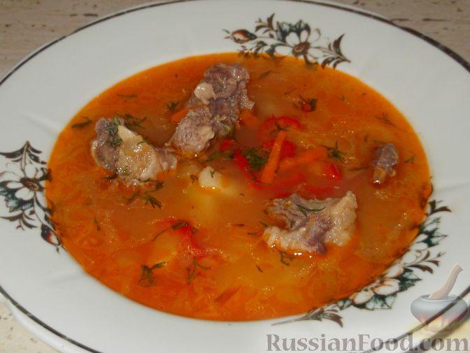 суп гуляш из баранины рецепт с фото