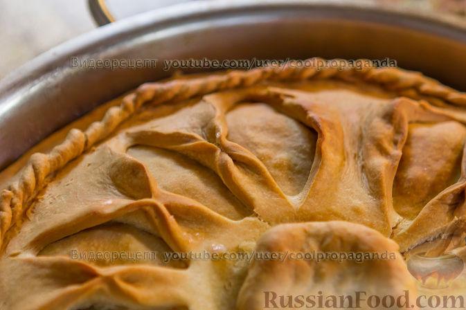 видео рецепт бульон и пирог с мясом