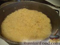 Фото приготовления рецепта: Блины на пшенной каше - шаг №3