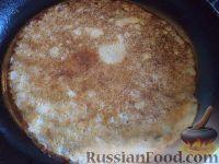 Фото приготовления рецепта: Блины на пшенной каше - шаг №12