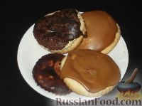 Фото к рецепту: Пряники на кефире (с глазурью)