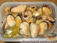 Фото к рецепту: Самые простые маринованные мидии
