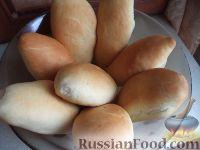 Фото к рецепту: Постные печеные пирожки с картофелем и грибами