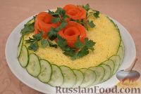 Фото к рецепту: Салат «Белая ночь»