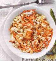 Фото к рецепту: Рис с куриным филе