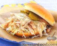 Фото к рецепту: Бургеры с курицей