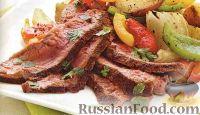 Фото к рецепту: Жареный на гриле стейк