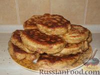 Фото к рецепту: Пицца-оладьи