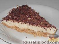Фото к рецепту: Кофейно-творожный чизкейк