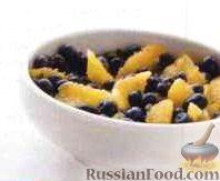 Фото к рецепту: Салат из черники и апельсинов