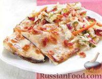 Фото к рецепту: Форель, запеченная в духовке под грилем