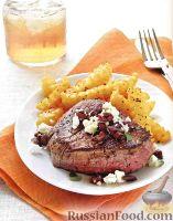 Фото к рецепту: Говяжий стейк по-гречески