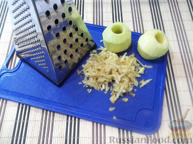 Фото приготовления рецепта: Тыквенная запеканка с яблоками - шаг №3