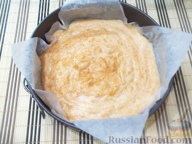 Фото приготовления рецепта: Тыквенная запеканка с яблоками - шаг №9