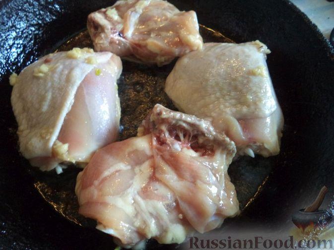Куриные бедрышки без кости на сковороде рецепт