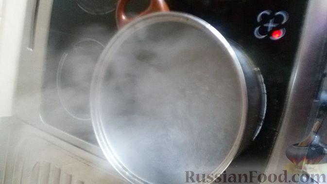 рецепт спагетти с морепродуктами в сливками