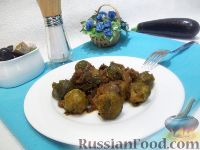 Фото к рецепту: Тушеное мясо с брюссельской капустой