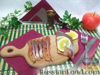 Фото к рецепту: Слабосоленая горбуша