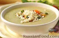 Фото к рецепту: Холодный суп-пюре из авокадо