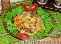 Фото к рецепту: Курочка под сырно-сметанным соусом
