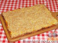 Фото к рецепту: Пирог «Творожный» за полчаса