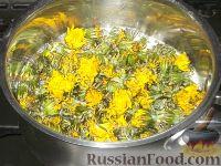 Фото приготовления рецепта: Варенье из одуванчиков, или одуванчиковый мед - шаг №4
