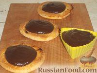 Фото к рецепту: Крем заварной шоколадный