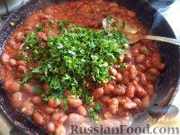 Фото приготовления рецепта: Лобио в томате - шаг №7