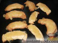 Фото к рецепту: Рогалики песочные с орехами