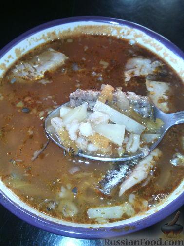 Рецепты рыбных супов с крупами