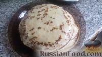 Фото приготовления рецепта: Блины на кефире - шаг №13