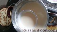Фото приготовления рецепта: Блины на кефире - шаг №6