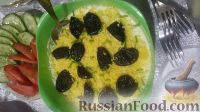 Фото к рецепту: Салат с курицей и черносливом