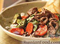 Фото к рецепту: Мясо с овощами стир-фрай