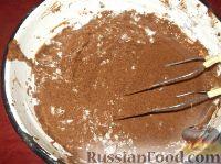 Фото приготовления рецепта: Пирог «Зебра» - шаг №7
