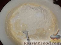 Фото приготовления рецепта: Пирог «Зебра» - шаг №11