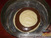 Фото приготовления рецепта: Пирог «Зебра» - шаг №12