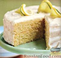 Фото к рецепту: Торт с цитрусовым вкусом