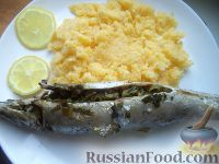 Фото приготовления рецепта: Изысканная скумбрия в духовке - шаг №11
