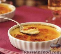 Фото к рецепту: Крем-брюле с карамелью