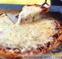 Фото к рецепту: Cырная пицца