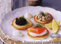 Фото к рецепту: Оладьи закусочные