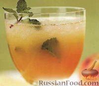 Фото к рецепту: Персиковый мохито
