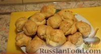 Фото к рецепту: Профитроли (заварные пирожные) с вареной сгущенкой