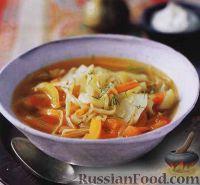 Фото к рецепту: Щи со свежей капустой