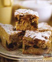 Фото к рецепту: Печенье с овсяными хлопьями, имбирем, орехами и финиками