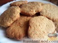 Фото к рецепту: Овсяное печенье с медом