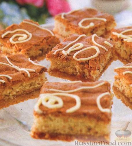 Рецепт Абрикосовые пирожные